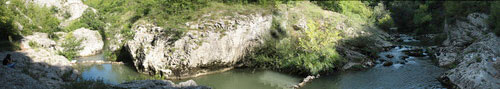 Соко баня каньон на Моравица